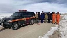 零下30℃,哈拉湖景區2人被困