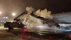 西寧機場順利保障2020年首場大雪