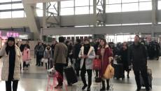 2020年春運開始 西寧火車站客流預計超108萬人次