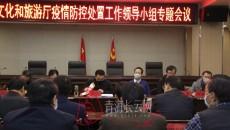 青海省文化和旅游廳召開黨組(擴大)會議暨疫情防控處置工作領導小組第二次會議