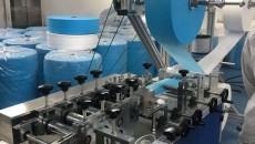 贊!通天河醫療器械有限公司日產6萬只口罩生產線試生產