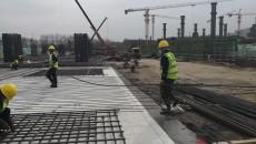 复工复产忙 青海国际会展中心建设现场井然有序