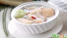 胃气不和试试竹荪肉丸汤