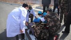 武警海北支队成功救助一名车祸受伤群众