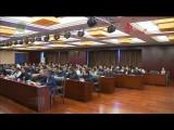 省政协组织机关干部集中收看全国政协十三届三次会议开幕式盛况