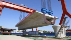 箱梁長40米,重1000噸!這條高鐵創造新紀錄