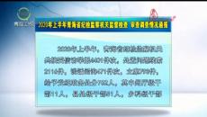 2020上半年青海省紀檢監察機關監督檢查 審查調查情況通報