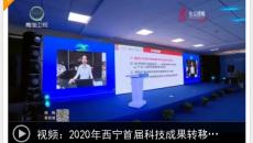 2020年西宁首届科技成果转移转化对接会开幕