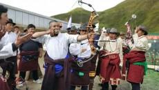 走进班玛  感受传统射箭文化