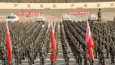 迈向军营!武警青海总队2000余名新兵开训
