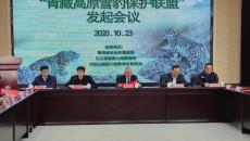 """""""青藏高原雪豹保护联盟""""发起会议在西宁举行"""
