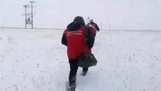 澤庫:踏雪巡線 保障集中供暖用電無憂  河湟站
