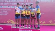 青海山地自行車隊用這4塊獎牌圓滿收官