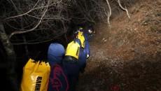 青海海東:調查人員不幸墜崖被困山林,消防寒夜緊急救援