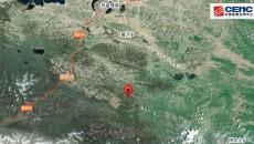 青海果洛州瑪多縣發生4.2級地震