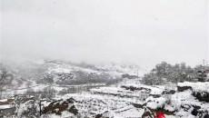 青海大部地区出现持续雨雪天气