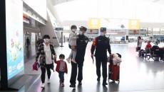 """""""五一""""国际劳动节:西宁铁路警方  为旅客平安出行保驾护航"""