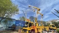 青海首次开展双回路带电组立及拆除直线杆作业