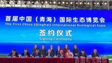 中国银行青海省分行作为唯一金融伙伴全力支持首届生态博览会成功举办