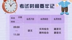 【长云关注 高考气象】高考气象服务专报(第4期)