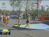 【关注第十四届全运会】青海竞走队获得全运会女子20公里竞走团体银牌