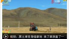 【走进乡村看小康】青海果洛协隆村:黑土滩变身绿草地 美了草原富了牧民