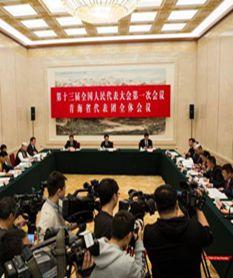 【聚焦全国两会】万博官网manbetx代表团举行全体会议
