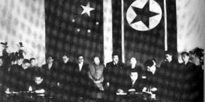百年瞬间45:中国政府决定从朝鲜撤军