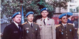 """官方美高梅99:中国第一支""""蓝盔部队"""""""