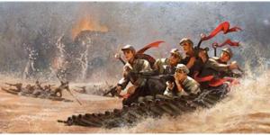 官方美高梅144:红军飞夺泸定桥