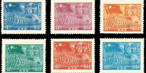 官方美高梅173:全国统一邮票开始发行