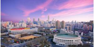 官方美高梅243:北京工人体育场建成