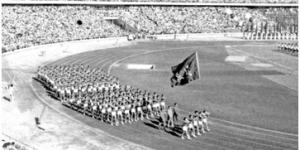 官方美高梅256:第一届全国运动会开幕