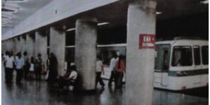 百年瞬间258:新中国第一条地铁正式交付运营
