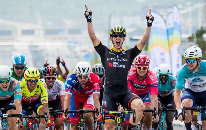 2018环湖赛第13赛段:中国车队收官战夺冠,哥伦比亚车手阿吉雷登顶总冠军