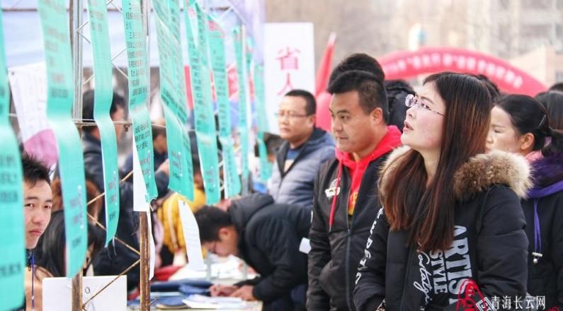 """青海省2019年""""春风行动""""省级专场招聘会在西宁举行"""