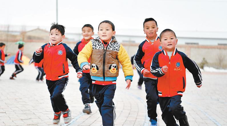 """青海提前实现学前教育""""十三五""""规划目标"""