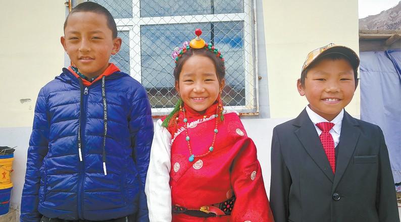 守护澜沧江源的最美童心一张照片背后的故事