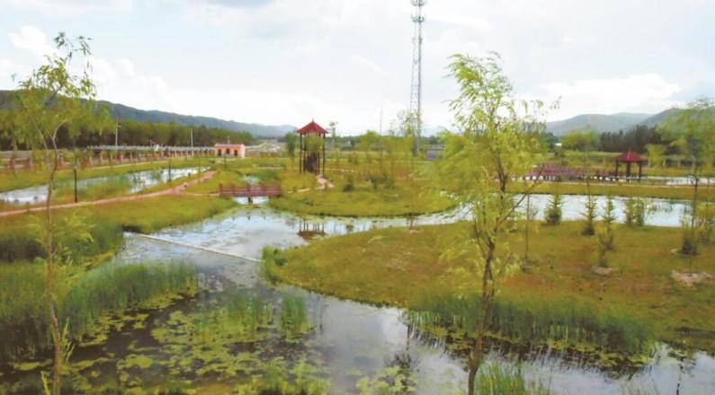 """【中央生態環境保護督察邊督邊改】 """"污水""""中建起的濕地公園"""