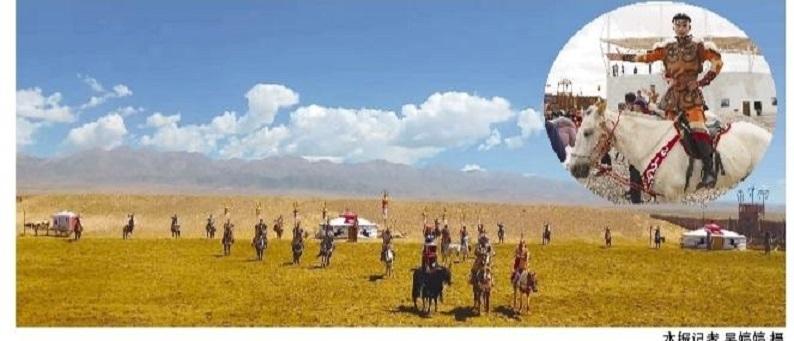 海西州文旅融合亮出新名片大型历史实景剧《一代天骄·成吉思汗》在天空壹号景区驻场演出