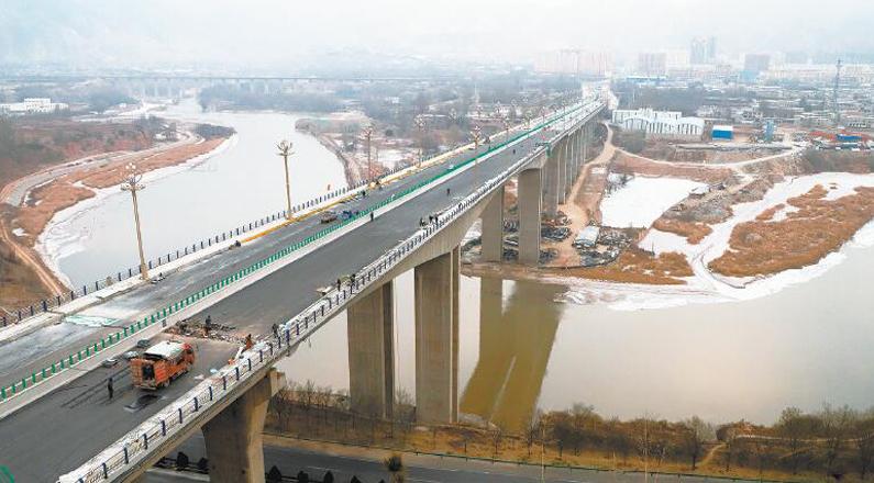 川海大橋預計12月下旬通車