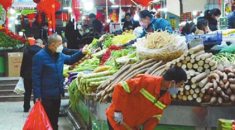 青海消费市场随春回暖