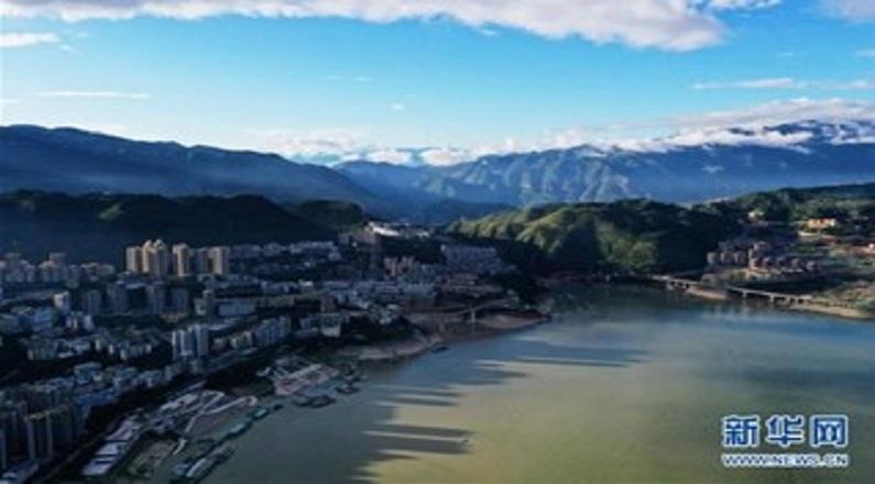 重慶巫山:雨后初霽美如畫