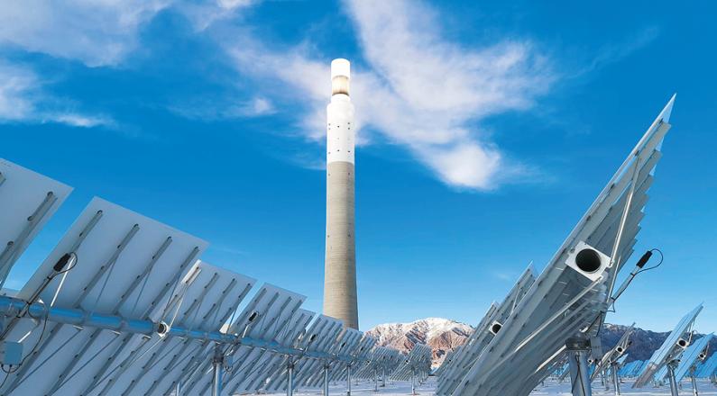 闪耀在中国柴达木的新能源之光