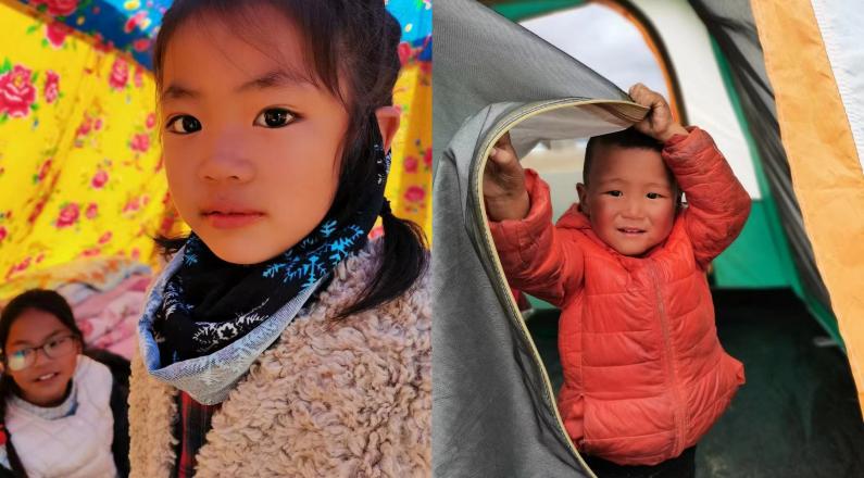 【長云直擊現場】你的眼睛里 放著世界所有的美好——震區可愛的孩子們