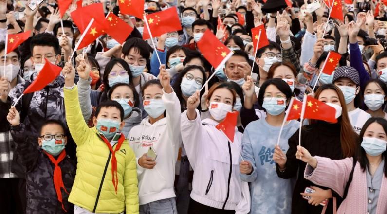 北京天安门广场举行2021年国庆升旗仪式