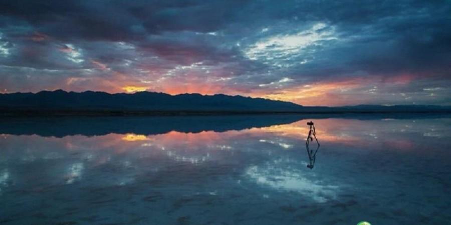 茶卡鹽湖一天空之鏡